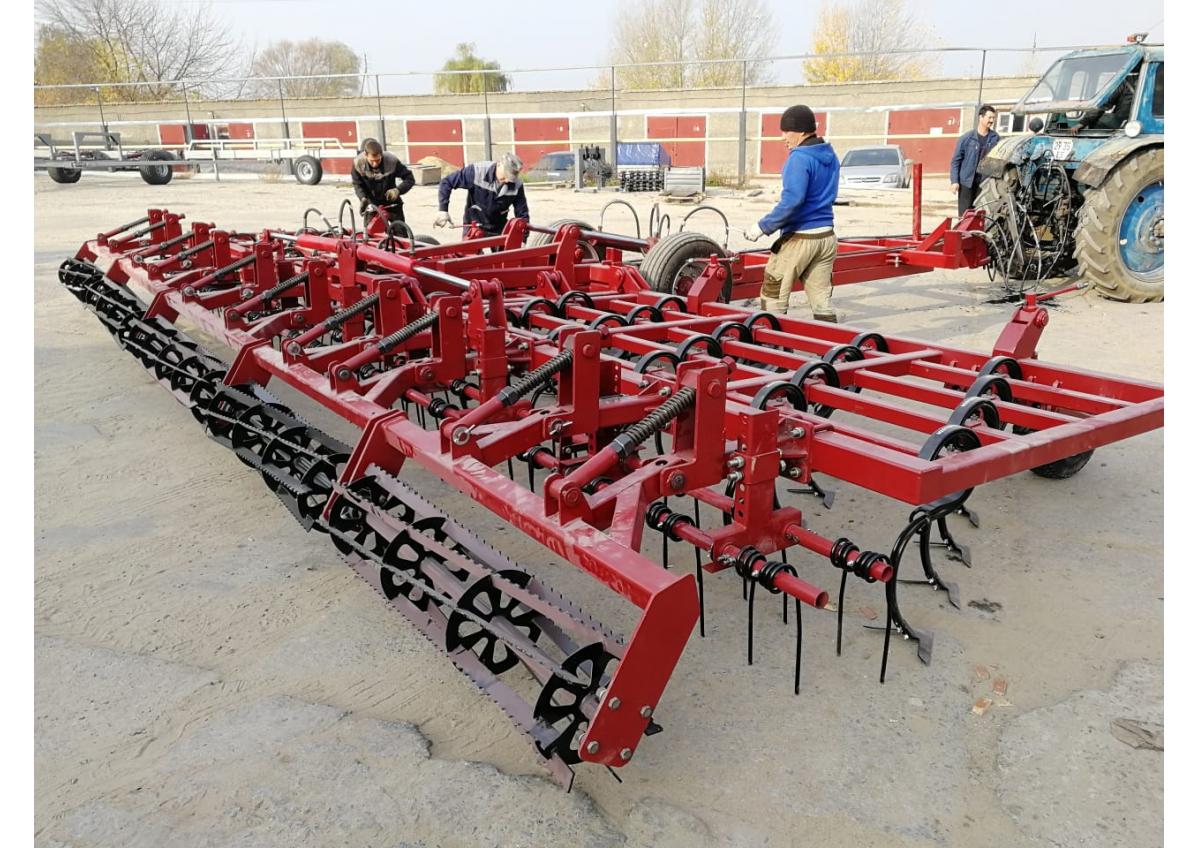 Культиватор для сплошной обработки почвы КПМ