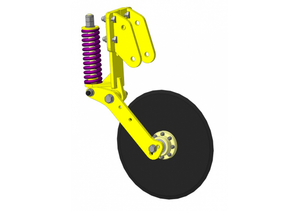 Колтер Д-3 (турбодиск/дисковый нож/культер на сеялку)